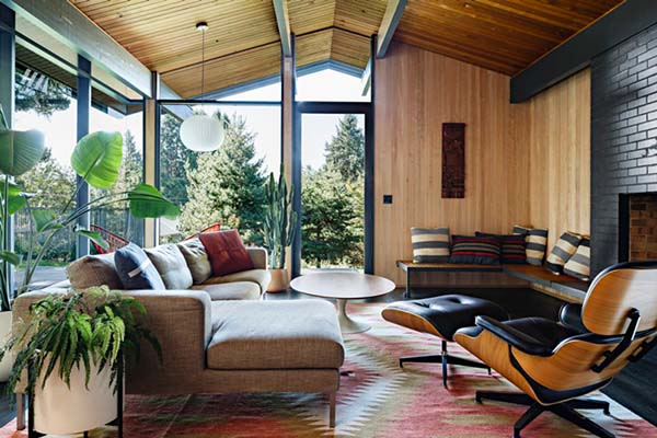 Stunning Mid Century Renewal In Portland By Jessica Helgerson