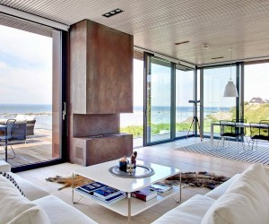 Stunning minimal villa in Sweden