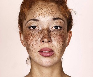 Stunning Portraits of Freckled Peoples by Brock Elbank