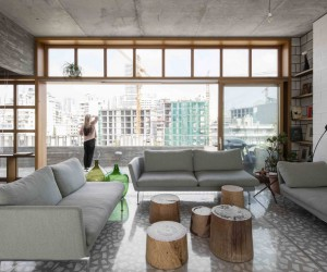 Stunning Roof Extension in Beirut With Panoramic City Views