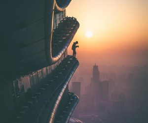 Stunning Rooftop Shots From Skyscrapers of Shanghai by Oliver Shou