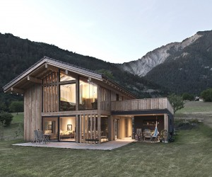 Stunning View of Swiss Mountains and Valleys: Cozy CRN House in Vollges
