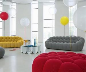 Stylish Handmade BUBBLE Sofa by Sacha Lakic