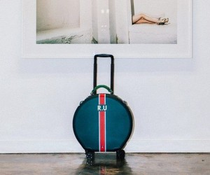 Stylish Round Luggage by OOKONN