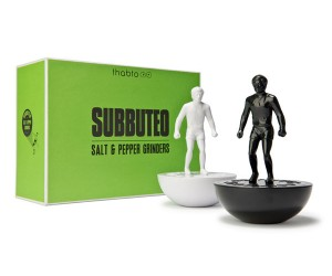 Subbuteo Salt  Pepper Grinders