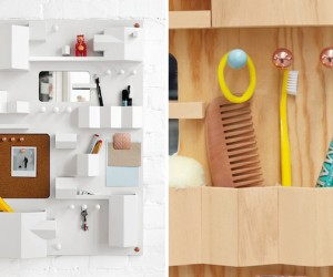 Suburbia Wall Storage by Seletti