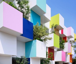 Sugamo Shinkin Bank Nakaaoki Branch by Emmanuelle Moureaux