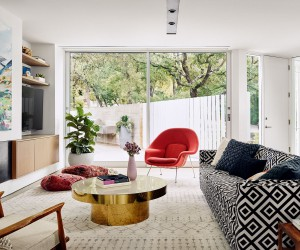 Sugar Shack Residence: Mid-Century Charm Coupled with Modern Aesthetics