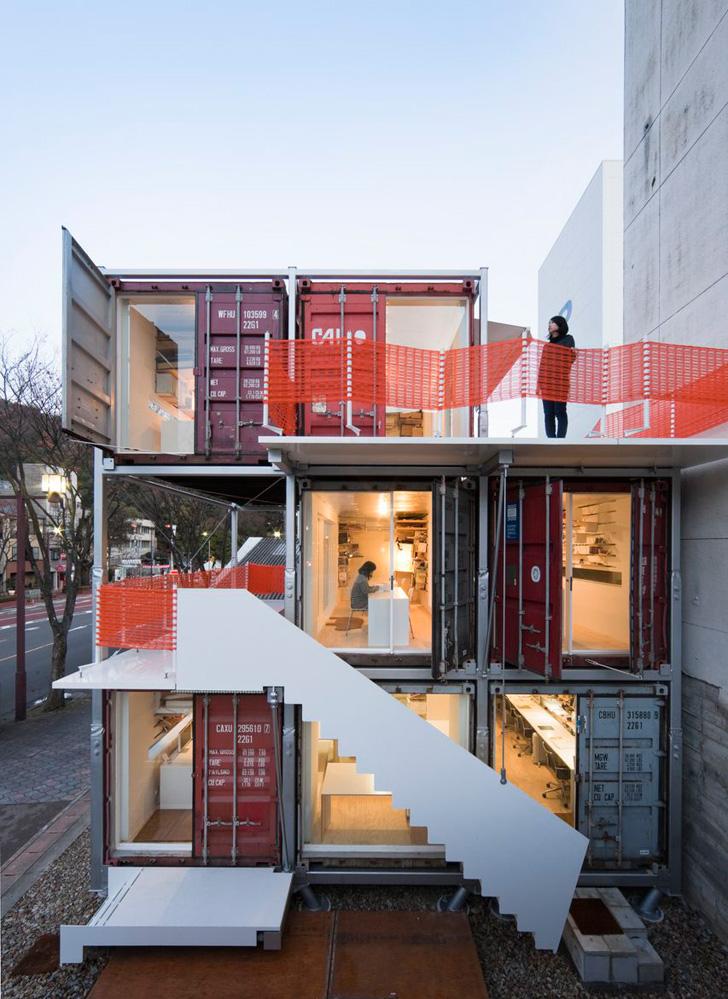 Sugoroku Office By Daiken Met Architects Nawakenji M