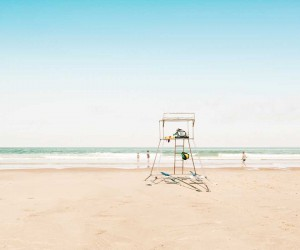 Summer Beach: Minimalist Landscape Photography by Ludwig Favre