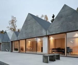Summerhouse Lagno by Tham  Videgrd Arkitekter