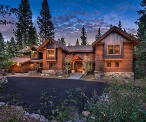 Sumptuous Custom Mountain Home in Martis Camp, California