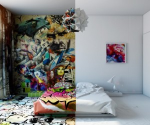 Sunday Room: artistic design by Pavel Vetrov