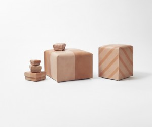 Suntan-Patterns Leather Collection by nendo