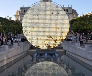 Sunwheel Installation by moradavaga, Porto