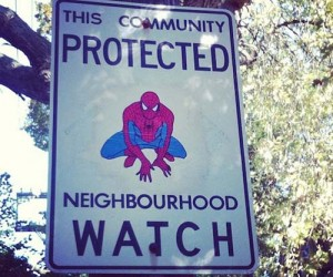 Superheroes Take Over Torontos Neighborhood Watch Program