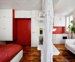 Surprisingly Small Studio in Paris by SWAN Architects