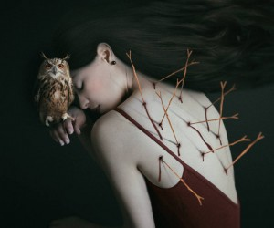 Surreal and Fine Art Self Portraits by Josephine Cardin