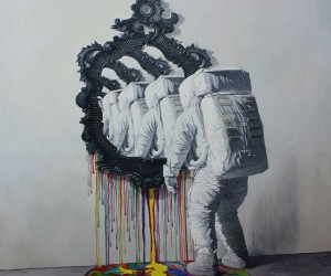 Surreal and Psychedelic Oil Paintings of Shang Chengxiang