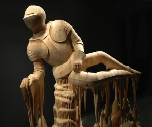 Surreal Hand Carved Wood Sculptures by Morgan Herrin