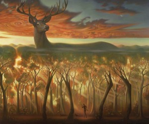 Surreal Oil Paintings by Vladimir Kush