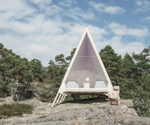 Sustainable Escape: Smart Zero-Emission Cabin Can is Set Up Anywhere