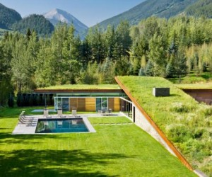 Sustainable house serenades the Rockies