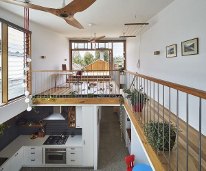 Sustainable, Light-Filled Transformation of Heritage Terrace House