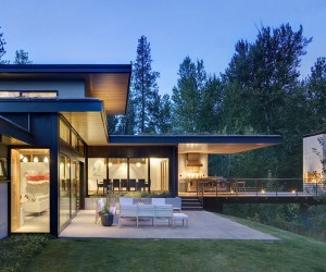 Sustainable Mountain House in Western Montana