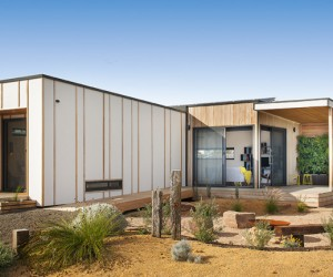 Sustainable prefab bushland retreat