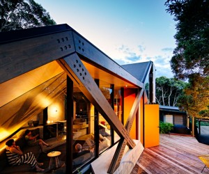 Sustainably striking cabin