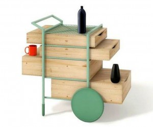 Swappi Drinks Trolley