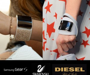 Swarovski  Diesel for The New Samsung Gear S Watch