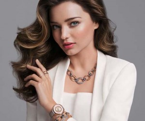 Swarovski goes behind the scenes with Miranda Kerr