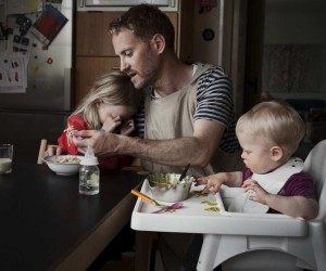 Swedish Dads: Johan Bvman Documents Stay-At-Home Dads And Their Kids