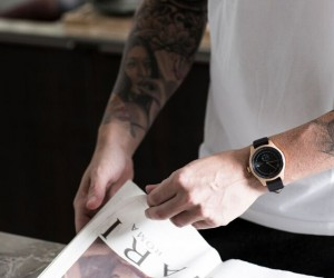 Swedish lifestyle label SQUARESTREET presents : Aluminum Timekeeper