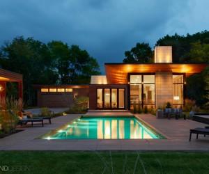 Swimming Pool in Modern Design Setting