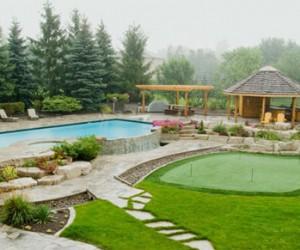 Swimming Pool Landscaping Design