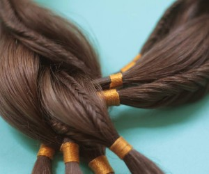 Sybille Paulsen Creates Jewelry with Human Hair for Cancer Patients