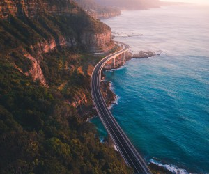 Sydneys Northern Beaches From Above by Shay Cooper