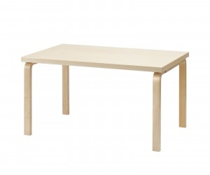Table 82B by Alvar Aalto for Artek