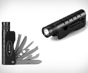 Tactical Flashlight Multitool