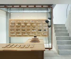 Tadafusa Factory Showroom by Yusuke Seki