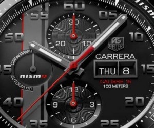 TAG Heuer Carrera Nismo Calibre 16 for Le Mans