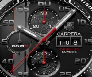 TAG Heuer Carrera Nismo Calibre 16 for Le Mans