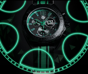 TAG Heuer CR7 with Cristiano Ronaldo