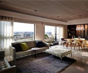 Taipei Apartment by Mole Design