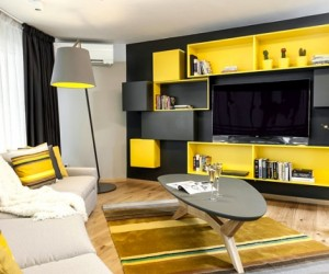 Taking a bite of the Big Apple: modern urban apartment in Bulgaria