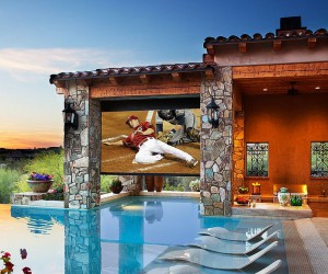 Taking the Home Theater Outdoors: From Poolside Hangouts to Patios