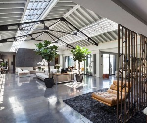 Talismanic Conversion Dream Apartment in Revamped London Warehouse